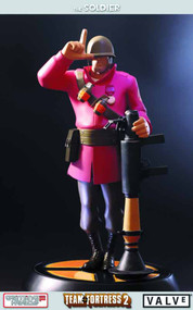 Team Fortress 2 The Soldier Statue Red Version -- FEB121682