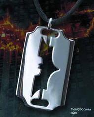 Batman Razor Sterling Silver Pendant - DC Comics DCU -- FEB121711