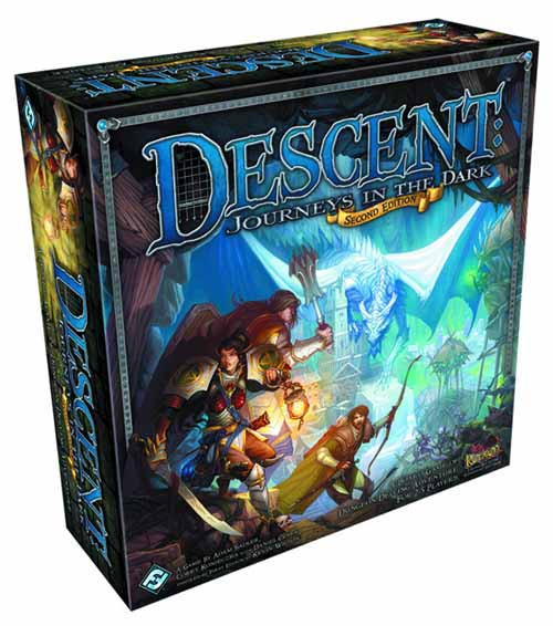 Descent Journeys In The Dark 2nd Edition Board Game -- FEB121792