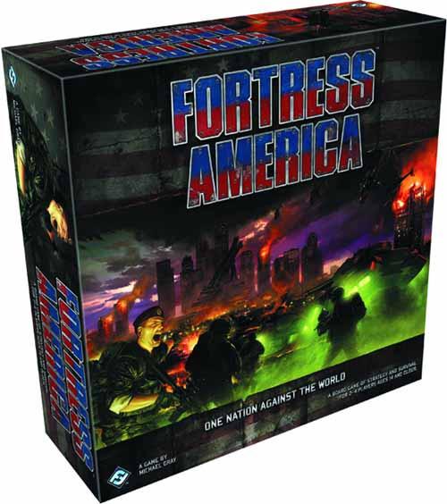 Fortress America Board Game -- FEB121794