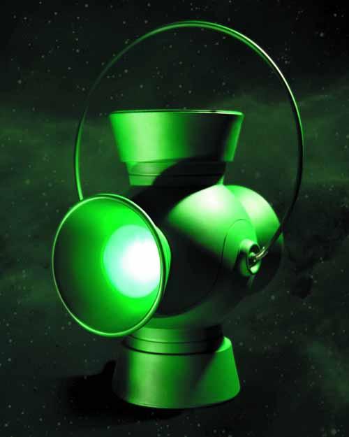 Green Lantern 1:1 Scale Power Battery Prop /w Ring -- DC -- FEB130261