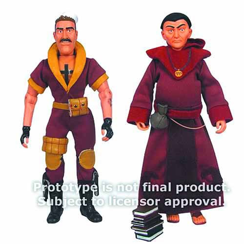 Venture Bros 8-In Shore Leave/Alchemist Action Figure asst -- FEB131553