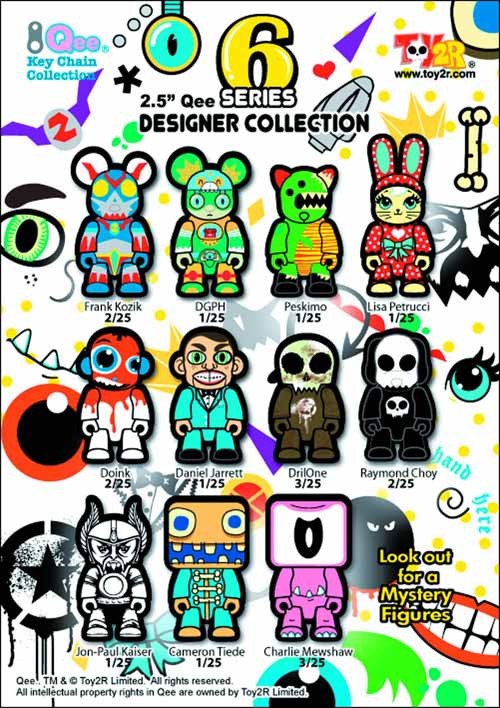 Qee Designer Collection 25-Piece Bmb Ds Series 06 -- FEB131586