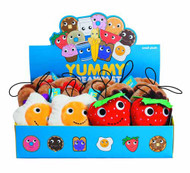 Yummy Small Plush 12-Piece assortment -- FEB131596