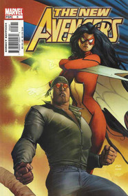 New Avengers 5 -- Granov Spider-Woman Luke Cage Variant Bendis Finch -- COMIC00000140