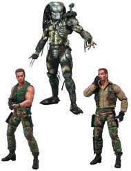 Predators Series 8 Action Figure asst--Arnold Schwarzengger -- FEB131611