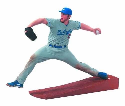 TMP MLB Series 31 Clayton Kershaw Action Figure Case -- FEB131628