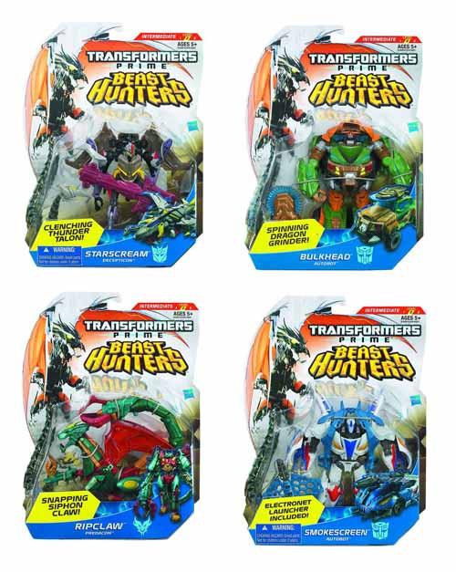 Transformers Prime Beast Hunter Dlx Action Fig asst 201302 -- FEB131634