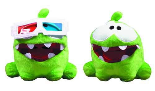 Cut The Rope 5-In Pose-N-Play Plush assortment -- FEB131639