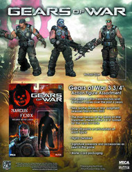 Gears of War 3-3/4 In Action Figure assortment -- FEB131640