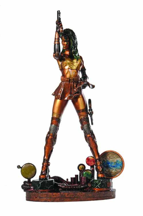 Aphrodite IX Faux Bronze Statue -- Top Cow Clayburn Moore -- FEB131651