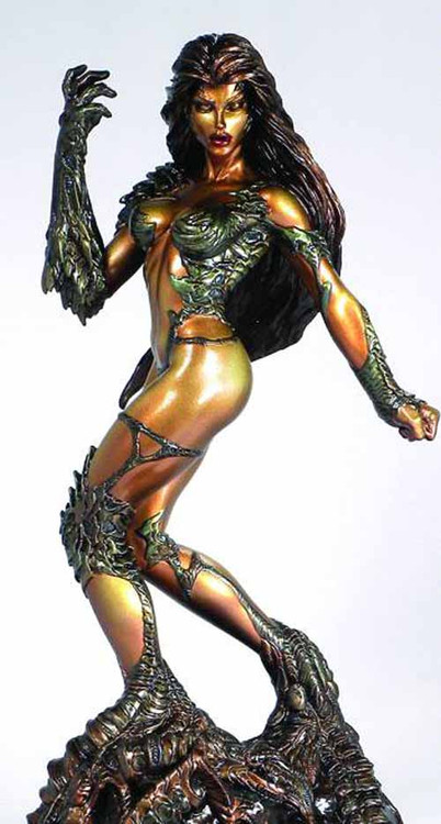 Witchblade Faux Bronze Statue -- Top Cow Clayburn Moore -- FEB131652