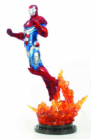Iron Patriot Statue -- Avengers Iron Man Bowen Designs -- FEB131658