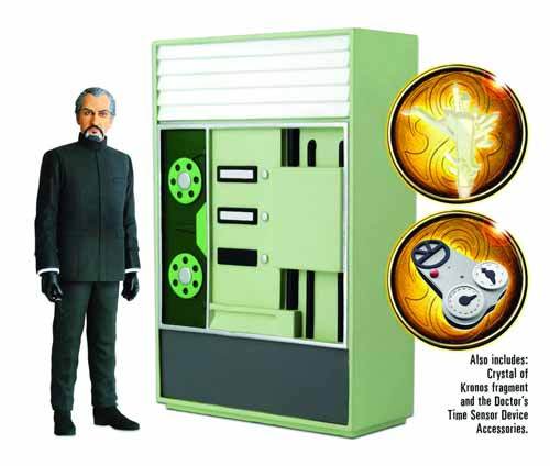 Doctor Who The Time Monster Action Figure Set--Underground -- FEB131699