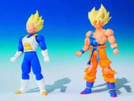 Dragon Ball Z Palm Motion Shodo Trad Figure 6-Piece asst -- FEB131716
