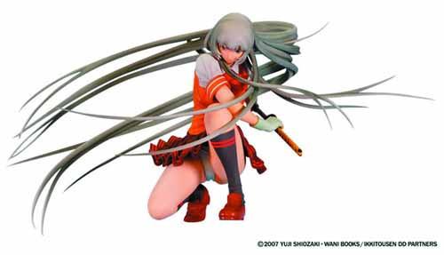 Ikki Tousen Dd Chouun PVC Figure Sword Dancing Version -- FEB131737