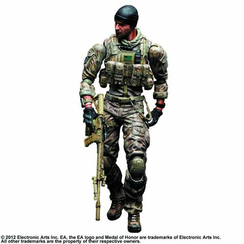 Medal Of Honor Warfighter Play Arts Kai Preacher Act Fig -- FEB131747