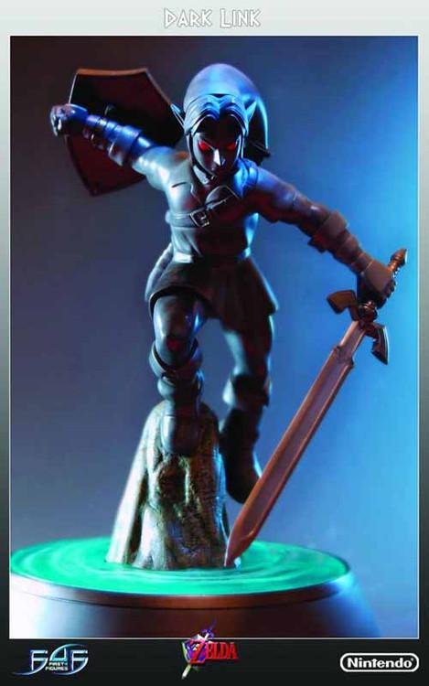 LOZ Dark Link Statue -- Legend of Zelda First4Figures -- FEB131748