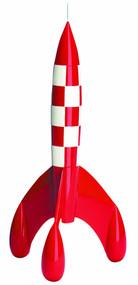Tintin Rocket 42cm Resin Figurine -- FEB131777