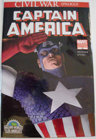 Captain America 25 Cassaday Variant Wizard World LA Avengers Brubaker -- COMIC00000159