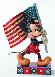 Disney Traditions Patriotic Mickey -- FEB131896