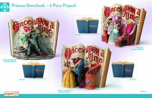 Disney Traditions Princess Storybook Ppk assortment -- FEB131898
