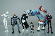 Umbrella Academy PVC Action Figure Set -- JAN120196