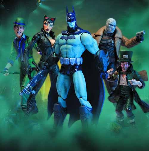 Batman Arkham City Series 2 Action Figure Assortment A -- JAN120380