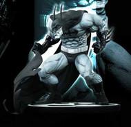 Batman Black & White B&W Statue By Sam Kieth -- JAN120394