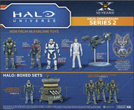 Halo 10th Ann Series 2 Package Master Chief Figure Case -- JAN120613