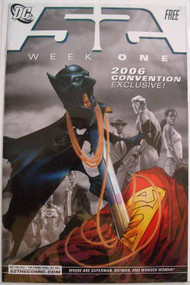 52 Week 1 Convention Exclusive 2006 Batman Superman Johns Morrison -- COMIC00000165