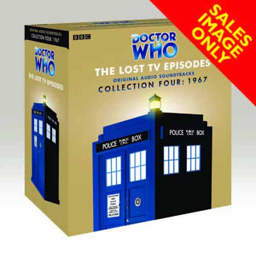 Doctor Who Lost TV Episodes Audio CD Collection 04 -- JAN121388