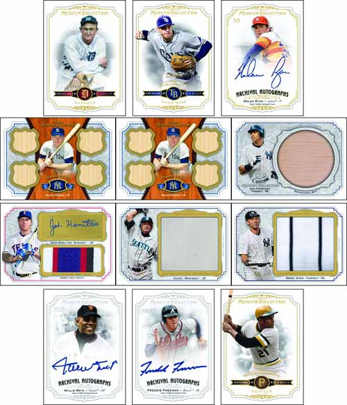 Topps 2012 Museum Collection Baseball Trading Card Box -- JAN121441