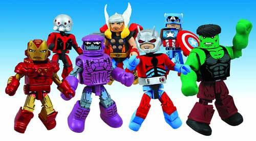 Marvel Minimates Series 44 Assortment -- JAN121702