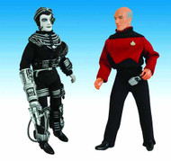 Star Trek Retro Cloth Figure Assortment Picard & Borg -- JAN121704