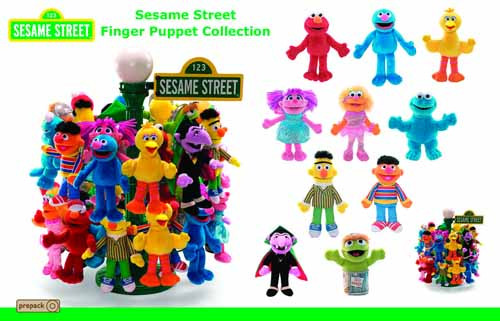 Gund Sesame Street Finger Puppet 72-Piece Assortment -- JAN121802