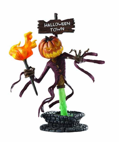 Nightmare Before Christmas Grand Jester Pumpkin King Bust -- JAN121822