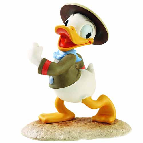 Wdcc Donald Duck Happy Camper Figurine Disney -- JAN121826