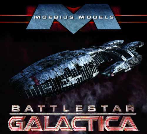 Battlestar Galactica BSG Model Kit Moebius -- JAN121837