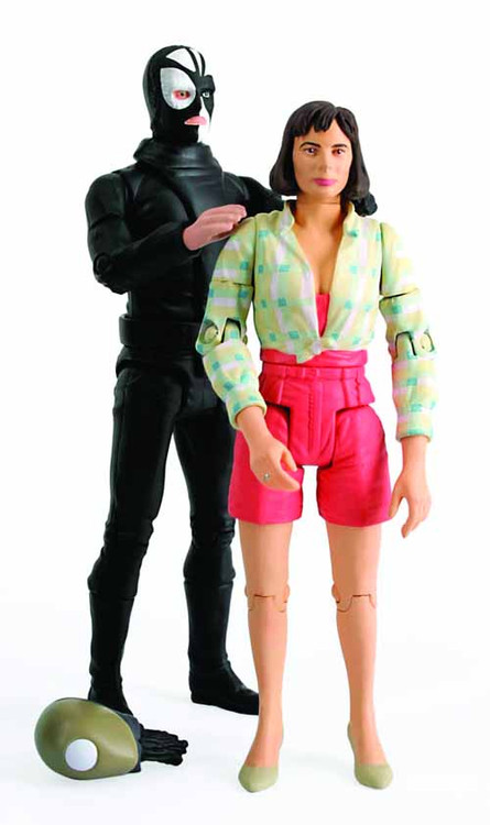 Doctor Who Peri & Sharaz Jek Action Figure 2Pk -- JAN121870