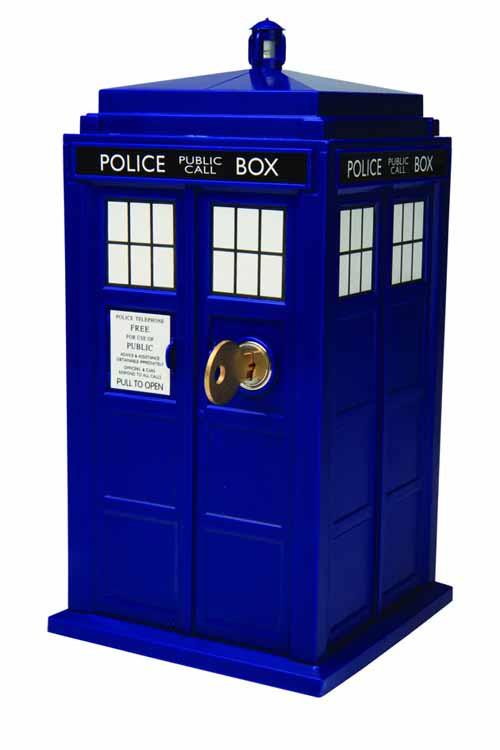 Doctor Who Tardis Safe -- JAN121881