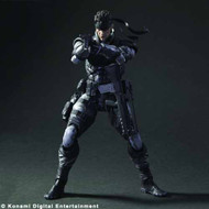Metal Gear Solid Play Arts Kai Solid Snake Action Figure -- JAN121896
