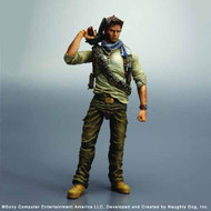 Uncharted 3 Play Arts Kai Nathan Drake Action Figure -- JAN121909