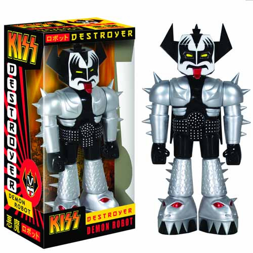 Kiss Destroyer Demon Robot Vinyl Invader Action Figure -- JAN121980