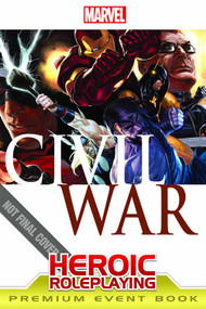 Marvel Heroes RPG Civil War Event Book Premium -- JAN122072