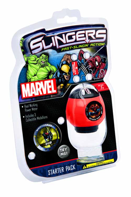 Marvel Slingers Blister Pack Assortment -- JAN122080
