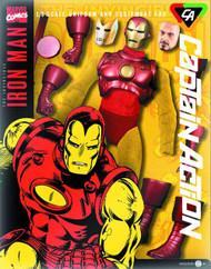 Captain Action Iron Man Deluxe Costume Set -- JAN131653