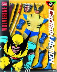 Captain Action Wolverine Deluxe Costume Set -- JAN131654