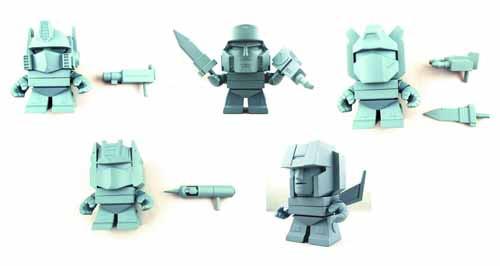 TLS X Transformers Mini Figure 16Pc BMB Ds--Loyal Subjects -- JAN131675
