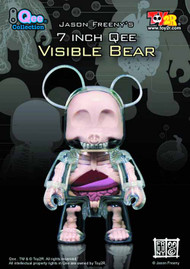 Visible Bear 7-In Qee 6-Piece Assortment -- JAN131678